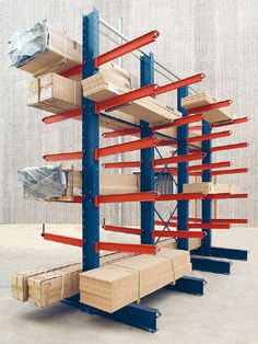 Cantilever Racking allows you to store loads conventional warehouse pallet racking can't, Pallet racking Quote supply and install nationwide.