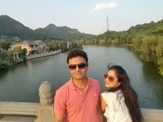 Babymoon in hangzhou China..  Celebrating the arrival of our little o ne