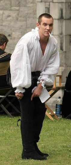 Jonathan Rhys Meyers, The Tudors  - The guy is always smoking more ways than one, of course!