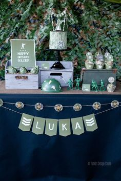 Toy Soldier Army Party | CatchMyParty.com