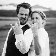 Hoje é dia de rock bebê! #rockyourwedding #IIIoficinadenoivas #meucasamentoperfeito