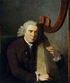 KENJI'S WELSH ART GALLERY - William Parry: The Blind Harpist Joseph Parry  Willam Parry was the famous Welsh harpist's son. He died at the age of 47 and became neglected, many of his paintings lost or mis-attributed, but he is the subject of a recent book by Miles Wynn Cato.