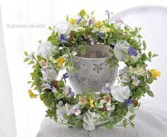 ハンドメイドマーケット minne(ミンネ)| viola wreath no.1