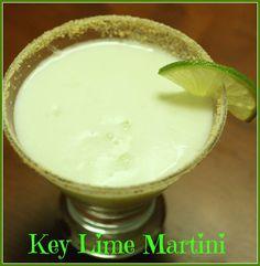 Key Lime Pie Martini!