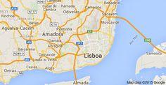 Map of Lisboa