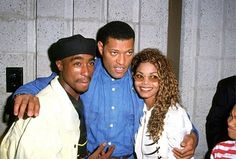 Tupac Shakur Laurence Fishburne and Janet Jackson Tupac Birthday, Senegalese Twist Styles, Tupac Shakur, American Rappers, Hip Hop Rap, Janet Jackson, Black Is Beautiful, Beautiful People, Las Vegas