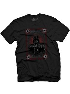 "Men's ""The Dark Leader"" Tee by Fifty5 Clothing (Black) #InkedShop #tee #graphictee #StarWars #DarthVader"