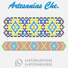 Needs to be adapted for eggs Diy Bracelets Patterns, Bead Loom Bracelets, Beaded Bracelet Patterns, Beading Patterns, Beard Jewelry, Beaded Crafts, Beading Tutorials, Loom Beading, Bead Weaving