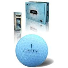 Crystal Golf Balls (More Colors Available)