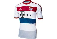 adidas Kids Bayern Munich Away Jersey 2014-15