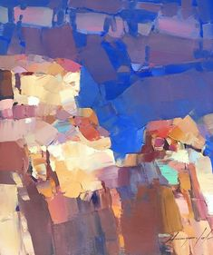 ARTIST: Vahe Yeremyan, WORK: Original Oil Painting, Handmade artwork, One of a Kind MEDIUM: Oil on Canvas YEAR: 2017 STYLE: Impressionism SUBJECT: Grand Canyon, SIZE: 14.