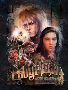 The Geeky Nerfherder: Cool Art: 'Labyrinth' by Richard Davies