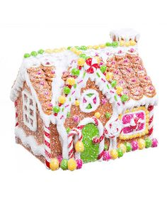 Take a look at this Gingerbread House by Evergreen on #zulily today!