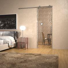 Sliding Door, glamour design, glass, interior design
