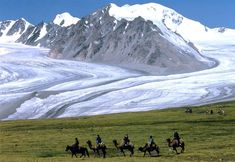 One of Mongolia's icei lands.