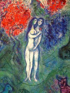 Chagall. Adam & Eve