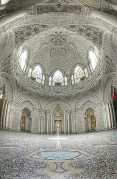 Abandoned castle in Italy. Castello di Sammezzano, province of Florence, Tuscany region of Italy. Romania The abandoned c. Abandoned Castles, Abandoned Mansions, Abandoned Buildings, Old Buildings, Abandoned Places, Modern Buildings, Beautiful Architecture, Beautiful Buildings, Art And Architecture