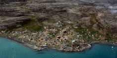 Among Greenland's remote communities are the semi-abandoned fishing village of Qoornoq - a cluster of colourful, uninhabited buildings in the Sermersooq municipality of southern Greenland - and Qaarsut, located further north.