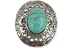 Bague tendance en 2014 turquoise ring hobo jewellery fashion bague turquoise et argent www.bijouxcherie.com