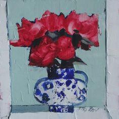Mhairi  McGregor RSW - Red Roses