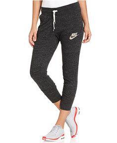 $40 Nike Pants, Gym Vintage Capri Sweatpants - Active Pants - Women - Macy's