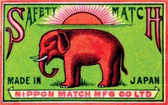 Editor: Blue Lantern Publishing Imprint: Laughing Elephant Matchbox Label'