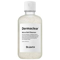 Dermaclear Micro Gentle Gel Cleanser is a gel-to-foam cleanser with moisturizing capsules that remove all makeup—even waterproof makeup—and impurities in pores without stripping the skin of moisture. The all-in-one cleanser works to visibly brighten, tone, and soften skin for a refreshed and healthy complexion. - Dr. Jart+ | Sephora