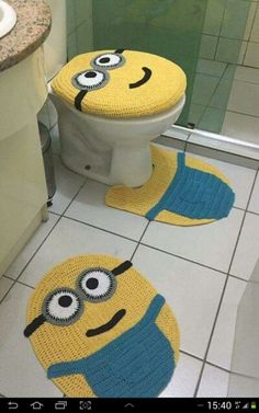 Minion Bathroom Decor | 16 Best Minion Bathroom Images Bath Mats Bath Rugs Bathroom