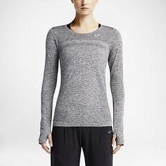Damska koszulka do biegania z długim rękawem Nike Dri-FIT Knit