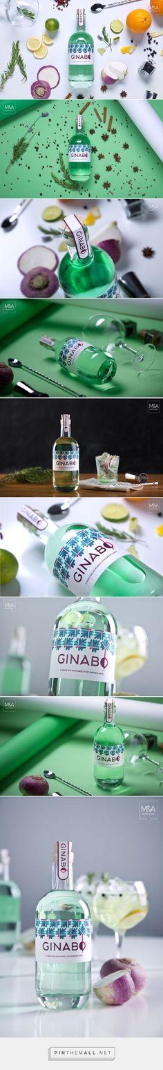 Ginabo || Gin Packaging Design