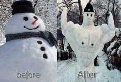 Funnies 3  snowman