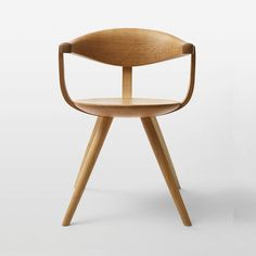 The Sori Yanagi Arm Chair is an iconic piece that epitomizes simple and beautiful design. Although when observed closely the design has many interesting details, the real mastery of this piece is how those details do not distract from the main focus of the piece, the beauty of the wood.