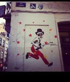 Street Art Rue Doudin