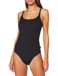 Badeanzug  Bekleidung, Damen, Bademode, Badeanzüge Faia, Black Suits, Bodysuit, One Piece, Swimwear, Tops, Fashion, Bathing, Clothing