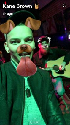 Kane Brown Snap Chat 11-20-16