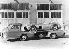 Renntransporter 1954 #classic #design #history #MB