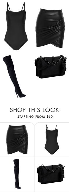 """coctel"" by juliadb on Polyvore featuring Ballet Beautiful, Giuseppe Zanotti and Nine West"