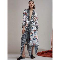 80d858ecc5ba9 Acler   Culmore Silk Kimono Painted Bloom Mix  Dresses