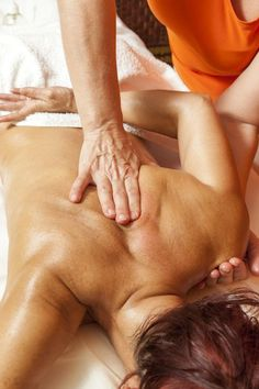 A deep tissue massage is a technique that focuses on realignment of deep layers of muscle, connective tissue and tendons.