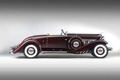 1935 Duesenberg SJ Convertible Coupé