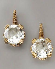 Stephen Dweck Crystal Drop Earrings @ Neiman Marcus