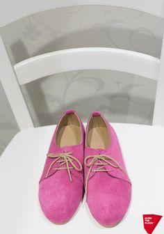 Χειροποίητα παπούτσια oxford φούξια!!!! – BBcreations