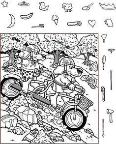 Hidden Picture Games, Hidden Picture Puzzles, Hidden Object Puzzles, Hidden Objects, Coloring Pages For Kids, Coloring Books, Kids Coloring, Highlights Hidden Pictures, Hidden Pictures Printables