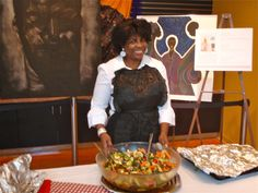 Oldways recently shared in a special Juneteenth event where the healthy foodways of African Americans were remembered and celebrated with a food cornucopia enjoyed by all who attended. Cookbook author Angela Shelf Medearis cooked up celebratory spread that was enjoyed by all who attended the Juneteenth event.