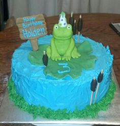 Frog cake:)
