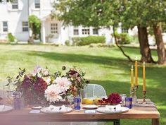 Get Inspired by This Chic Farm-to-Table Bridal Shower Luncheon | Photo by: Sidney Bensimon | TheKnot.com