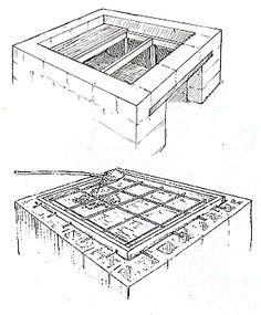 basamento forno in mattoni