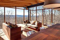 Mid-century modern house renovation by Donald Billinkoff