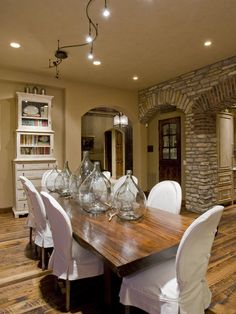 Slip Covers For Dining Room Chairs Dining Pinterest Room