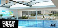 3 Adet yüzme havuzu ve bir çok sosyal alanları ile Iconova size sınırsız imkanlar sunuyor... #iconova